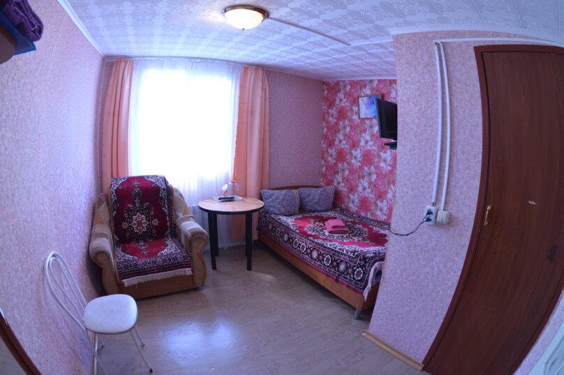 Одноместный номер с санузлом без душа (12 кв.м), Магистральная, 37 , Горно-Алтайск - Фотография 1