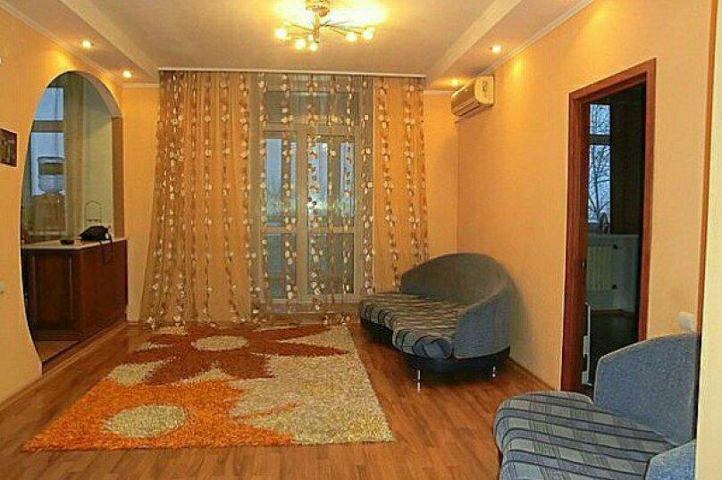 2-комн. квартира, 54 кв.м. на 3 человека, проспект Строителей, 25/130, Барнаул - Фотография 1