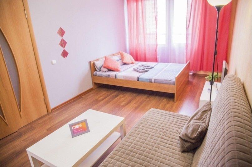 1-комн. квартира, 40 кв.м. на 4 человека, улица Варламова, 29, Петрозаводск - Фотография 1