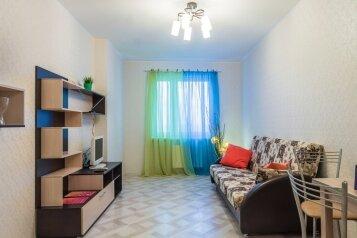 2-комн. квартира, 40 кв.м. на 4 человека, улица Энтузиастов, 15, Петрозаводск - Фотография 1
