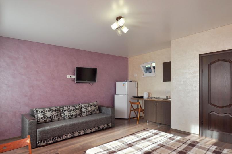 Студия с балконом,второй этаж, Паустовского, 15А, Симеиз - Фотография 1