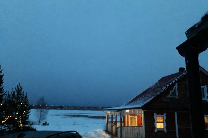 Дом из тесаного бревна, 85 кв.м. на 8 человек, 4 спальни, Часовенская, 10а, Кондопога - Фотография 10