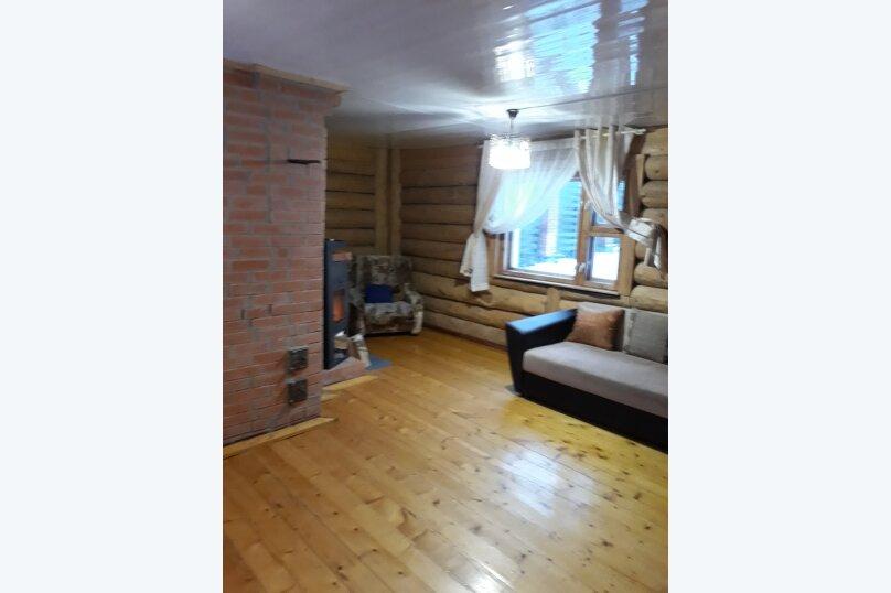 Дом из тесаного бревна, 85 кв.м. на 8 человек, 4 спальни, Часовенская, 10а, Кондопога - Фотография 15