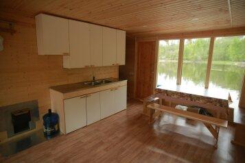 Дом, 40 кв.м. на 6 человек, 2 спальни, п. Сорола, Лахденпохья - Фотография 3