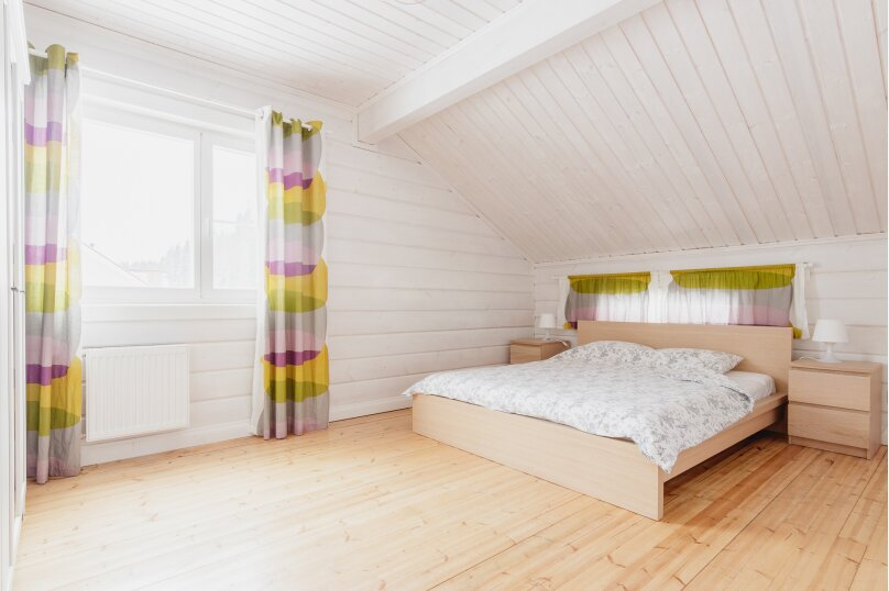 Коттедж с 6 спальнями, сауной и камином (до 14 гостей), 220 кв.м. на 12 человек, 6 спален, Русская Красавица, 1, Межозерное - Фотография 22