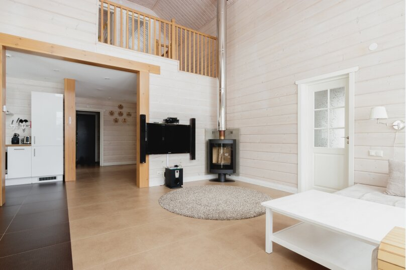 Коттедж с 4 спальнями, сауной и камином (до 10 гостей), 150 кв.м. на 8 человек, 4 спальни, п.Межозерное, № 3, Выборг - Фотография 7