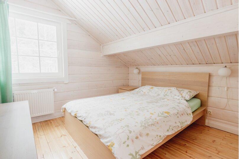 Коттедж с 4 спальнями, сауной и камином (до 10 гостей), 150 кв.м. на 8 человек, 4 спальни, п.Межозерное, № 3, Выборг - Фотография 17