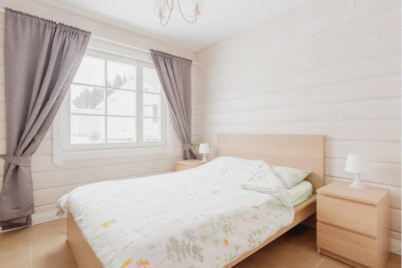Коттедж с 4 спальнями, сауной и камином (до 10 гостей), 150 кв.м. на 8 человек, 4 спальни, п.Межозерное, № 3, Выборг - Фотография 19