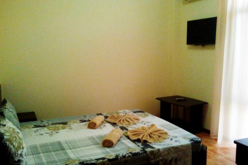 Двухкомнатный пятиместный люкс с балконом, Черноморская улица, 181Д, Витязево - Фотография 1