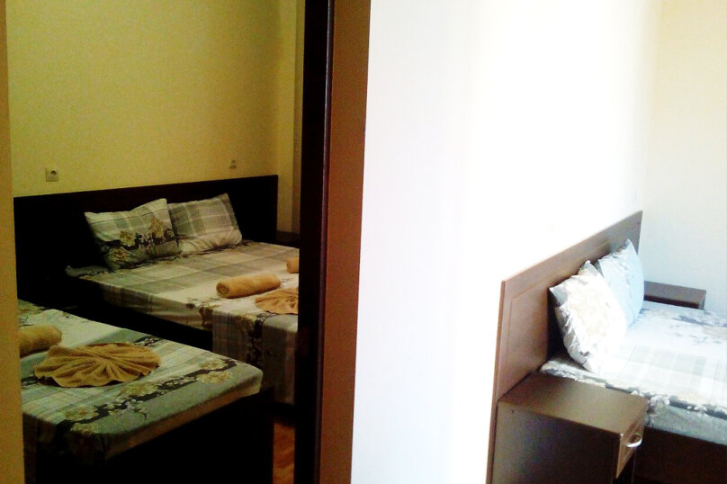 Двухкомнатный пятиместный люкс с балконом, Черноморская улица, 181Д, Витязево - Фотография 4