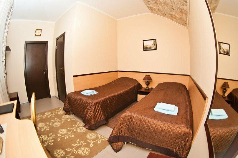 Стандартный двухместный номер с 2 отдельными кроватями, улица Маршала Жукова, 43, Наро-Фоминск - Фотография 1