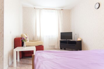 2-комн. квартира, 60 кв.м. на 5 человек, улица Суворова, 37, микрорайон Древлянка, Петрозаводск - Фотография 2