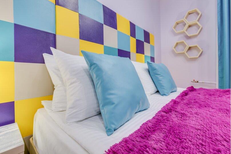 Дизайнерский двухместный номер ЛЮКС с 1 кроватью или 2 отдельными кроватями и собственной ванной комнатой, улица Ленина, 392, Ставрополь - Фотография 1