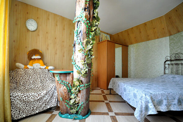1-комн. квартира, 25 кв.м. на 3 человека, Пролетарская улица, 7-9, Гурзуф - Фотография 1