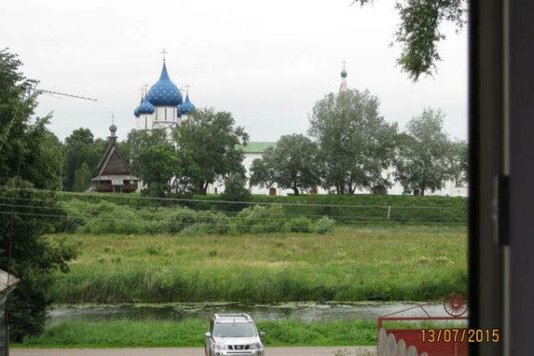 Дом с баней на Кремлёвском берегу, 120 кв.м. на 10 человек, 3 спальни, Пушкарская улица, 41, Суздаль - Фотография 1