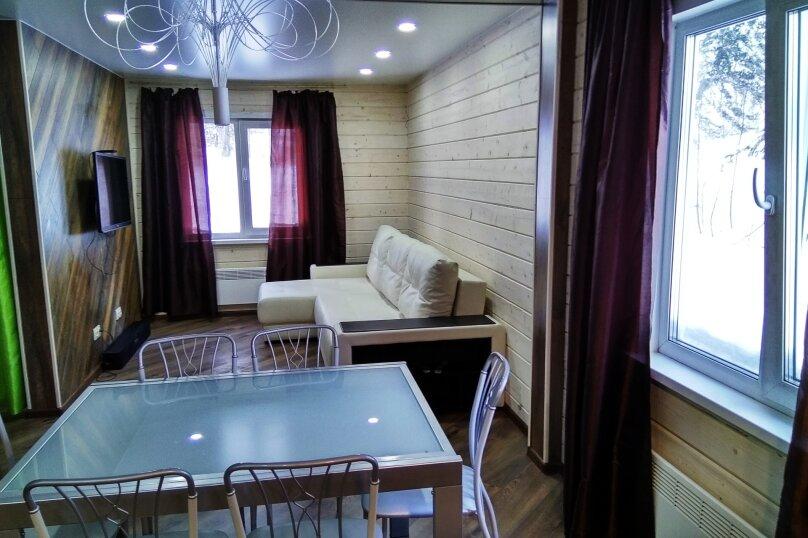 Коттедж, 65 кв.м. на 12 человек, 1 спальня, Свободная, 40, Шерегеш - Фотография 2