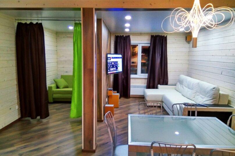 Коттедж, 65 кв.м. на 12 человек, 1 спальня, Свободная, 40, Шерегеш - Фотография 8