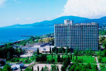 1-комн. квартира, 26 кв.м. на 3 человека, улица Чкалова, Адлер - Фотография 1