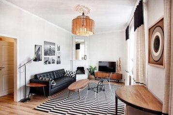 Апаратменты на Караванной :  Квартира, 6-местный (4 основных + 2 доп), 2-комнатный, Апартаменты , Караванная улица на 1 номер - Фотография 3