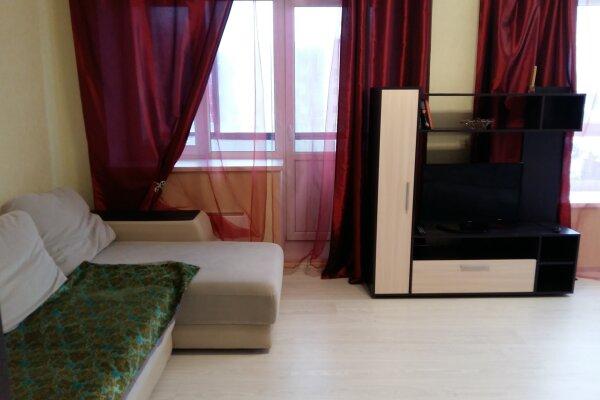 2-комн. квартира, 60 кв.м. на 4 человека, проспект Боголюбова, 44, Дубна - Фотография 1
