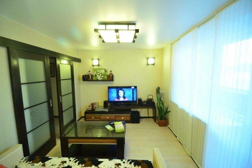 3-комн. квартира, 54 кв.м. на 6 человек, Вязовая улица, 7, Владивосток - Фотография 4