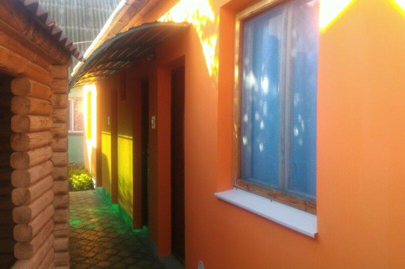 Отдых штормовое  частный сектор отдельно стоящие  2 комнаты  с отдельной кухней для комфортного отдыха, 44 кв.м. на 6 человек, 2 спальни, Прибрежная улица, 33, Штормовое - Фотография 1