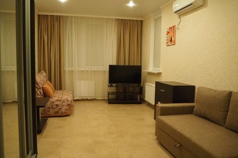 1-комн. квартира, 42 кв.м. на 5 человек, Дивная улица, 1, Дивноморское - Фотография 1