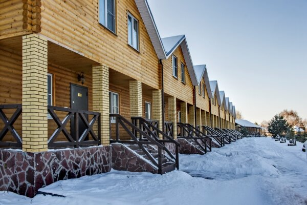 Коттедж в поселке Солотча Рязанской области, 160 кв.м. на 6 человек, 3 спальни