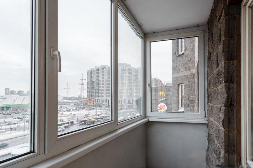 2-комн. квартира, 70 кв.м. на 6 человек, Коломяжский проспект, 26, Санкт-Петербург - Фотография 16