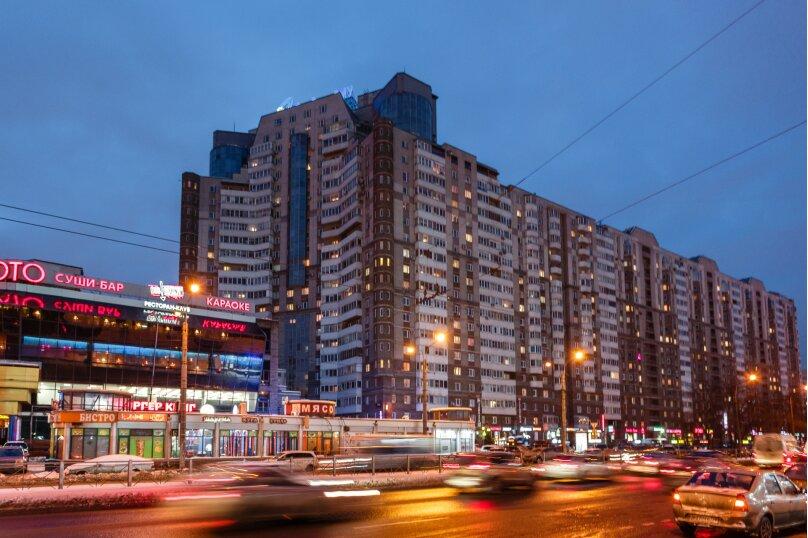 2-комн. квартира, 70 кв.м. на 6 человек, Коломяжский проспект, 26, Санкт-Петербург - Фотография 21