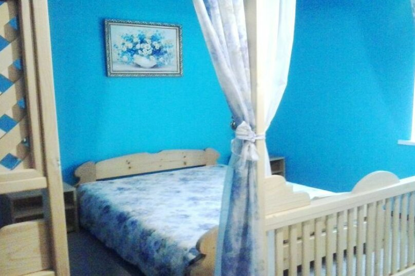 Стандарт улучшенный однокомнатный на 2 человека 1й этаж, Таврическая улица, 18, Оленевка - Фотография 1