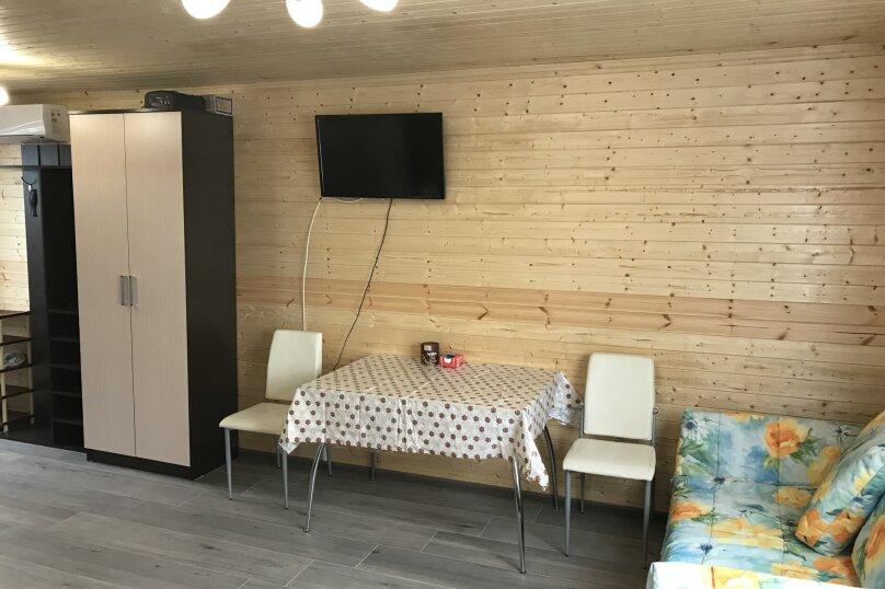 Однокомнатные аппартаменты для семьи под ключ , 27 кв.м. на 4 человека, 1 спальня, Лиманная , 12а, Витязево - Фотография 3