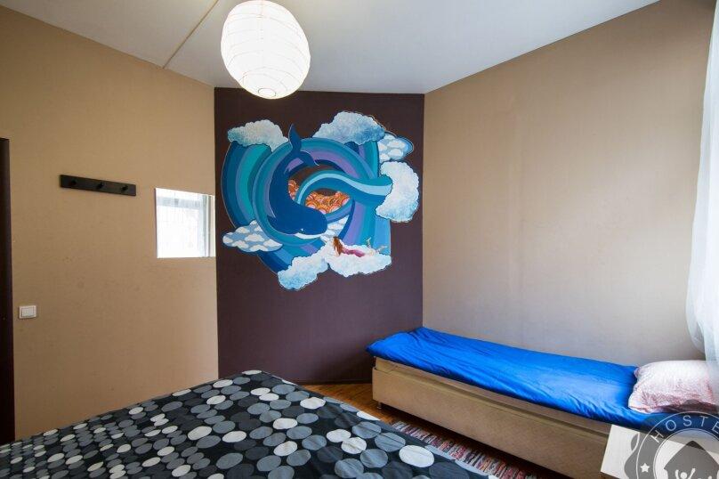 Трехместный номер с общей ванной комнатой, Северная улица, 324Г, Краснодар - Фотография 1