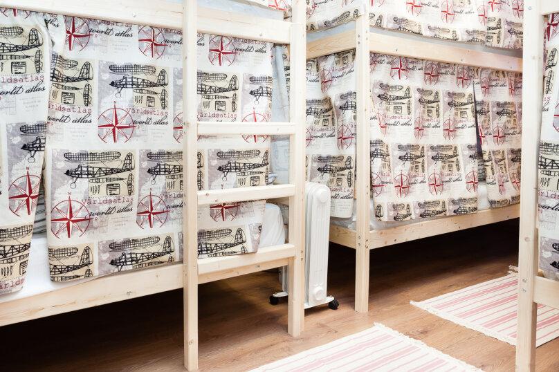 Кровать в общем 6-местном номере для женщин, улица Жуковского, 14/18, Домодедово - Фотография 1