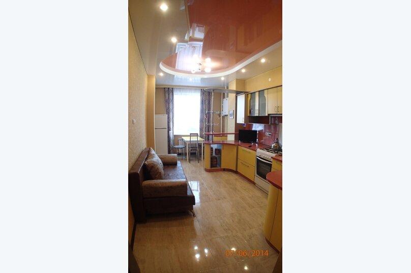 1-комн. квартира, 50 кв.м. на 4 человека, улица Луначарского, 114, Геленджик - Фотография 6