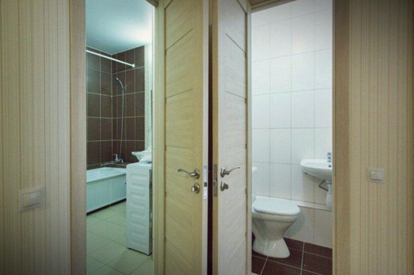 3-комн. квартира, 71 кв.м. на 6 человек, улица Авиаторов, 45, Красноярск - Фотография 6