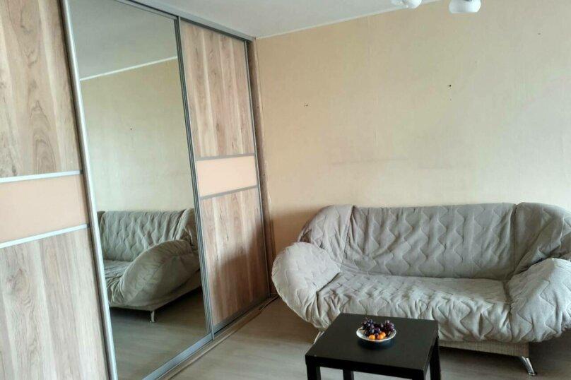 1-комн. квартира, 50 кв.м. на 4 человека, Аэровокзальная улица, 7, Красноярск - Фотография 1