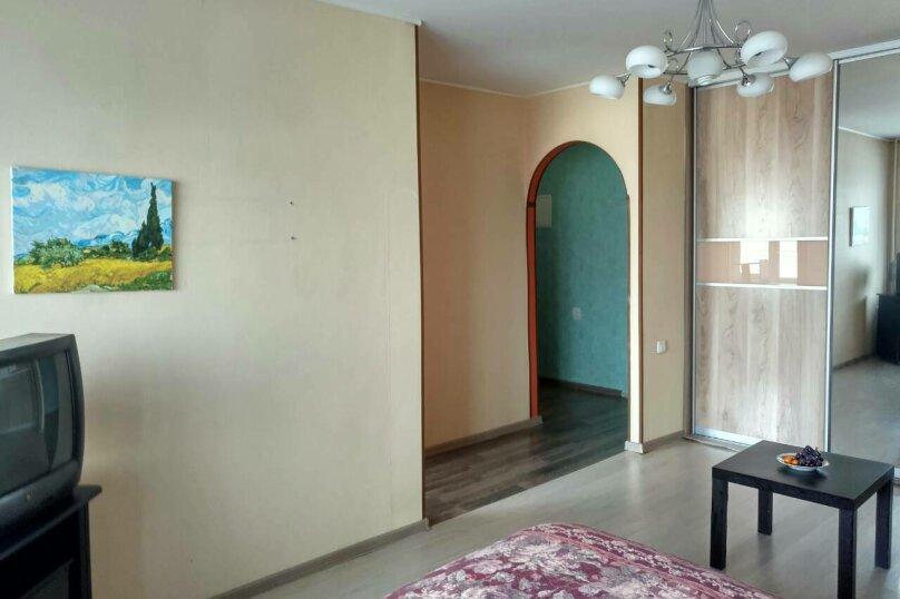 1-комн. квартира, 50 кв.м. на 4 человека, Аэровокзальная улица, 7, Красноярск - Фотография 3