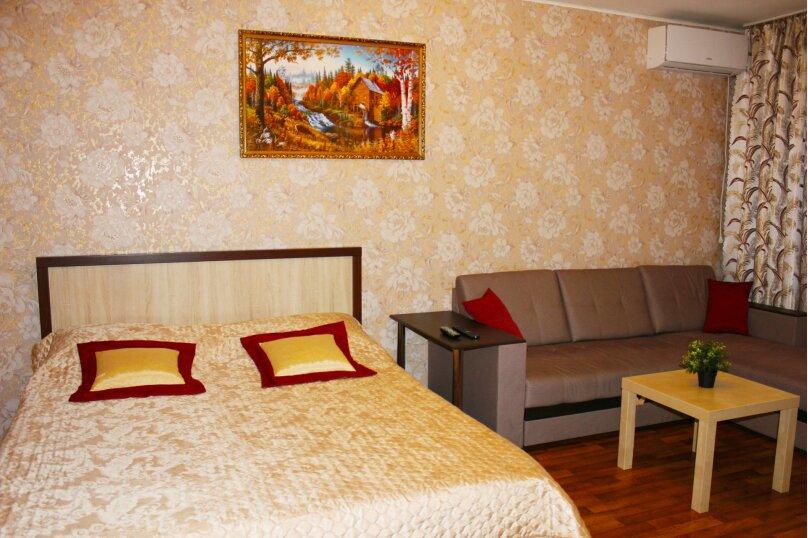 1-комн. квартира, 42 кв.м. на 4 человека, улица Карякина, 22, Краснодар - Фотография 1