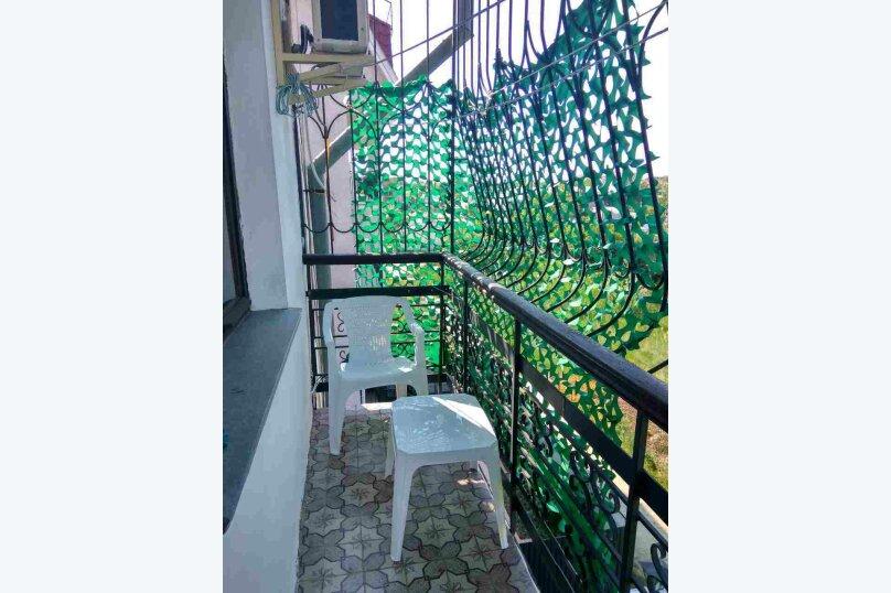 1-комн. квартира, 36 кв.м. на 4 человека, Долинный переулок, 15А, Коктебель - Фотография 3