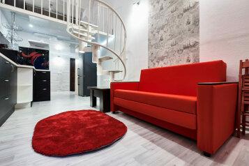 2-комн. квартира, 45 кв.м. на 4 человека, Халтуринский переулок, 4А, Ростов-на-Дону - Фотография 3