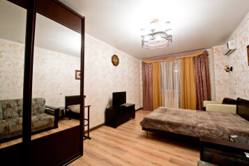 1-комн. квартира, 55 кв.м. на 2 человека, Кубанская набережная, 64, Краснодар - Фотография 1