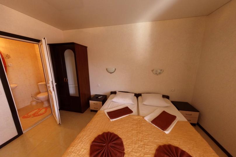 Улучшенный стандарт с 2 односпальными кроватями, Приморская улица, 32, Межводное - Фотография 1