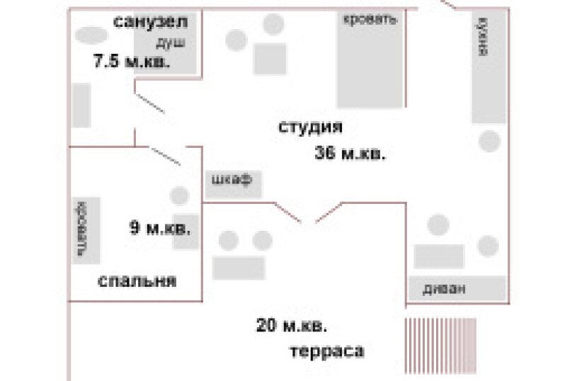 """Гостевой дом """"Панорама"""", Предгорный проспект, 18 на 2 комнаты - Фотография 2"""