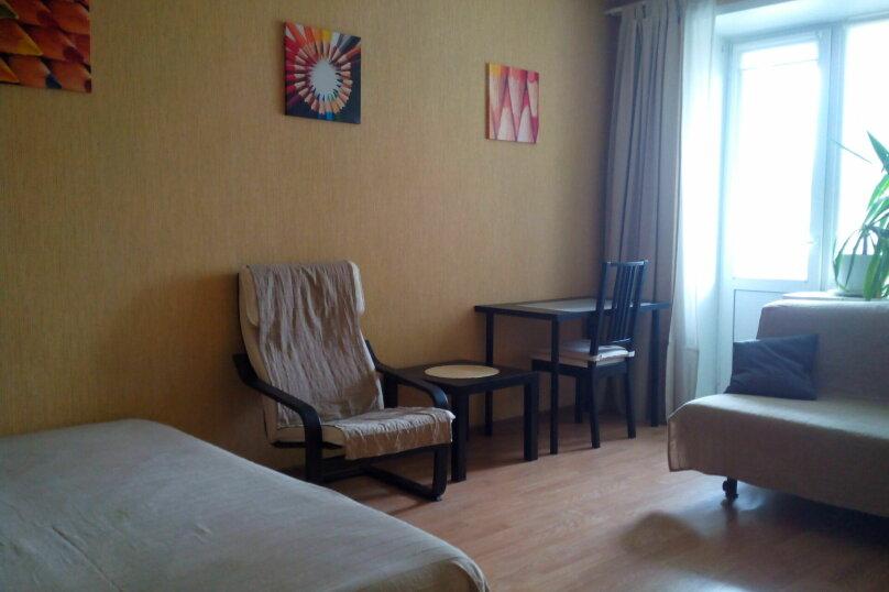 1-комн. квартира, 31 кв.м. на 5 человек, Гоголя, 19, Новосибирск - Фотография 1