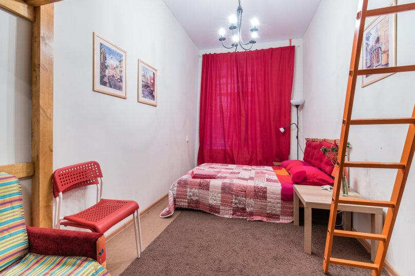 1-комн. квартира, 25 кв.м. на 5 человек, Сапёрный переулок, 10, Санкт-Петербург - Фотография 1