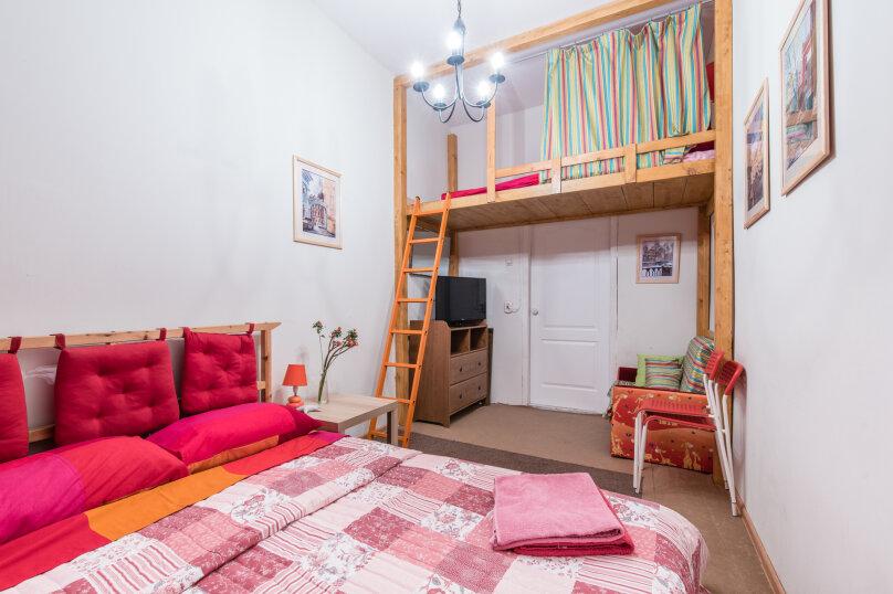 1-комн. квартира, 25 кв.м. на 5 человек, Сапёрный переулок, 10, Санкт-Петербург - Фотография 2