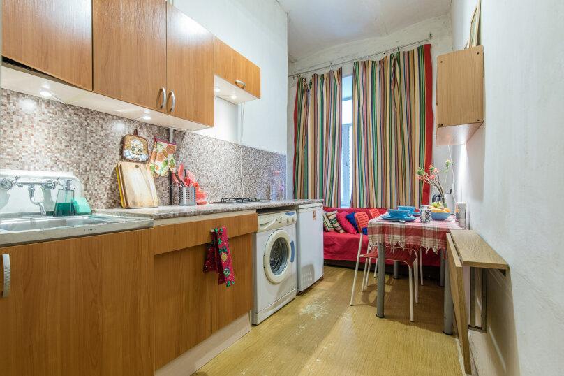 1-комн. квартира, 25 кв.м. на 5 человек, Сапёрный переулок, 10, Санкт-Петербург - Фотография 4