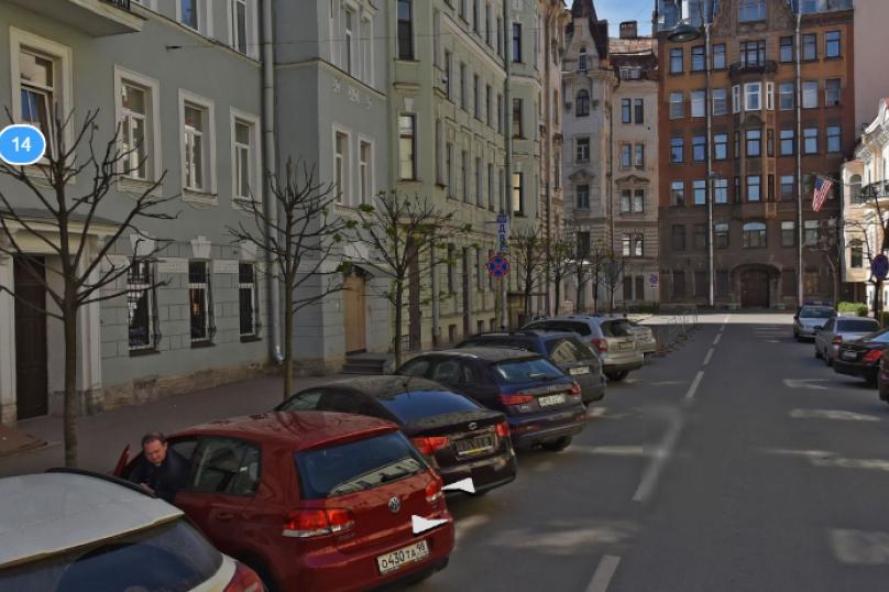 1-комн. квартира, 25 кв.м. на 5 человек, Сапёрный переулок, 10, Санкт-Петербург - Фотография 15