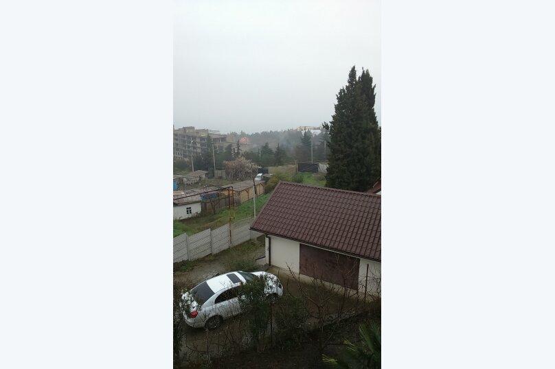 3-х местный номер с видом, 18 кв.м. на 4 человека, 1 спальня, улица Сергеева-Ценского, 6, Алушта - Фотография 2